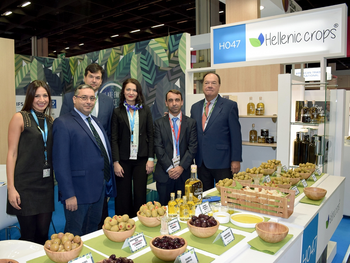 Hellenic Crops INC at ANUGA 2017