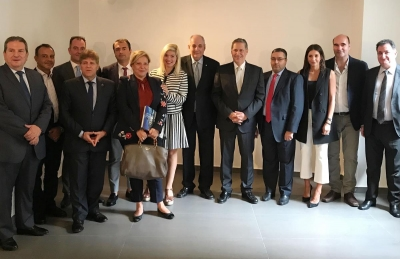 PARTICIPATION OF HELLENIC CROPS INC  IN GREEK BUSINESS DELEGATION -LEBANON